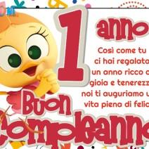 Buon compleanno 1 anno con Priscilla - Buon compleanno 1 anno