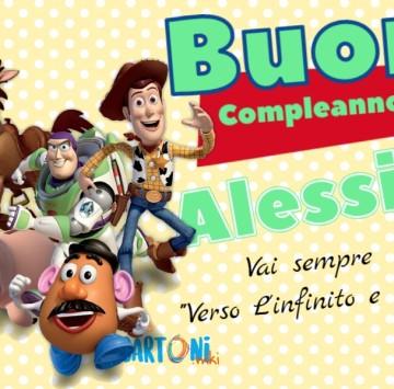 Buon compleanno Alessio - Cartoni animati