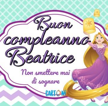 Buon compleanno Beatrice - Cartoni animati