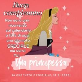Buon Compleanno con la Principessa Aurora