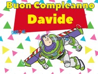 Buon compleanno Davide - Buon compleanno