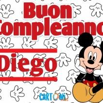 Buon compleanno Diego - Buon compleanno