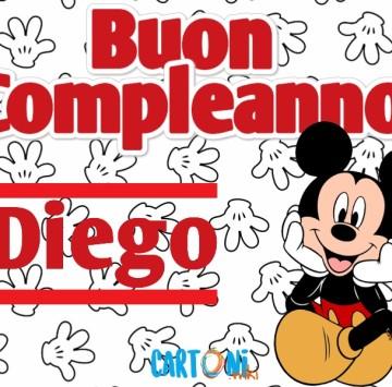 Buon compleanno Diego - Cartoni animati