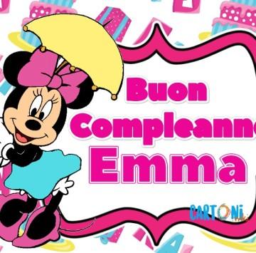 Buon compleanno Emma - Cartoni animati
