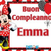 Auguri di buon compleanno Emma - Buon compleanno