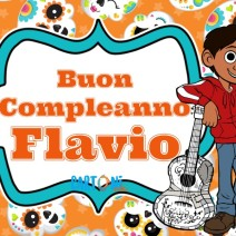 Auguri Flavio per il tuo compleanno - Buon compleanno