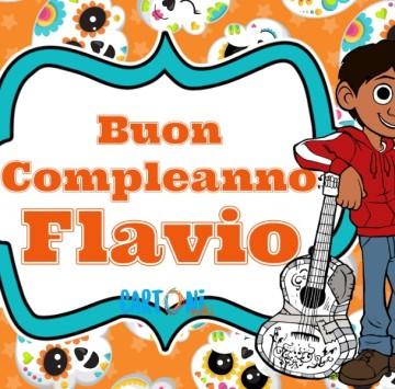 Auguri Flavio per il tuo compleanno - Cartoni animati