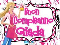 Buon compleanno Giada - Buon compleanno