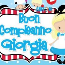 Buon compleanno Giorgia - Buon compleanno
