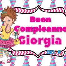 Giorgia buon compleanno - Buon compleanno