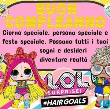 Buon compleanno con Lol Surprise #hairgoals - Cartoni animati