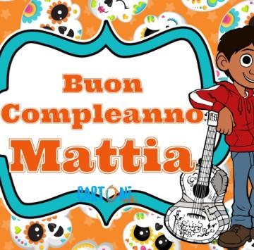 Buon compleanno Mattia - Cartoni animati