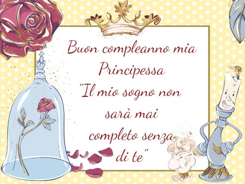 Buon compleanno mia principessa - Cartoni animati