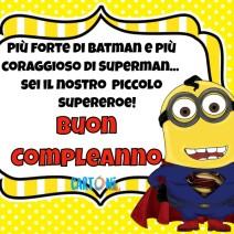 Buon compleanno piccolo supereroe - Buon compleanno