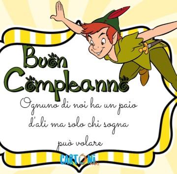 Buon compleanno con Peter Pan - Cartoni animati