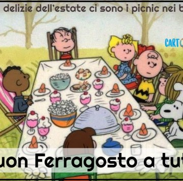 Buon Ferragosto - Cartoni animati