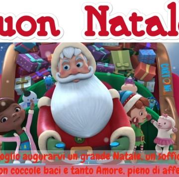 Amici vi auguro un grande Natale - Cartoni animati