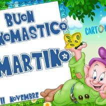 Auguri di Buon onomastico Martino - Buon onomastico