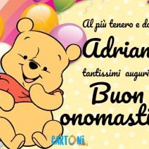 Buon onomastico Adriano - Buon onomastico