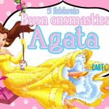 Buon onomastico Agata 5 febbraio - Buon onomastico
