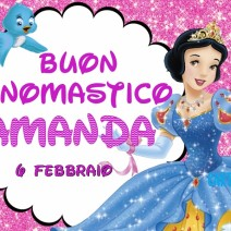 Buon onomastico Amanda - Buon onomastico