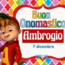 Buon onomastico Ambrogio - Buon onomastico