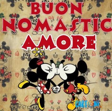 Buon onomastico Amore - Cartoni animati