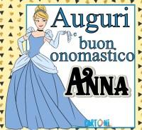 Auguri e buon onomastico Anna - Buon onomastico