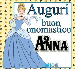 Auguri e buon onomastico Anna
