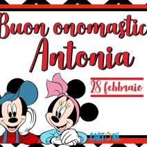 Buon onomastico Antonia 28 febbraio - Buon onomastico