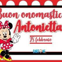 Buon onomastico Antonietta 28 febbraio - Buon onomastico
