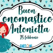 Buon onomastico Antonietta - Buon onomastico