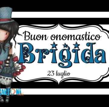 Buon onomastico Brigida - Cartoni animati