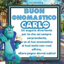 Buon onomastico Carlo - Buon onomastico