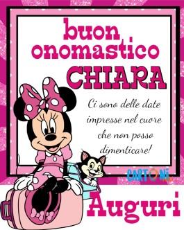 Auguri Buon onomastico Chiara