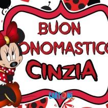 Buon onomastico Cinzia - Buon onomastico