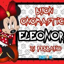 Onomastico Eleonora 21 febbraio - Buon onomastico