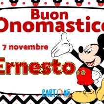 Buon onomastico Ernesto - Buon onomastico