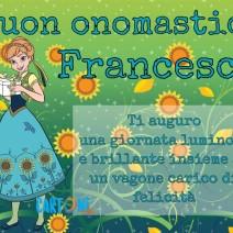 Buon onomastico Francesca - Buon onomastico