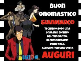 Buon onomastico Gianmarco