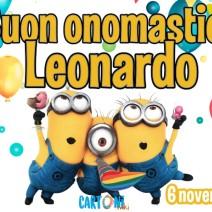 Leonardo auguri di Buon onomastico - Buon onomastico