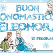 Auguri buon onomastico Eleonora - Buon onomastico
