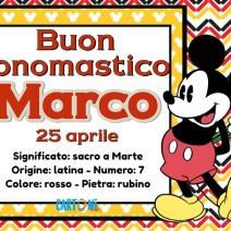 Buon onomastico Marco - Buon onomastico