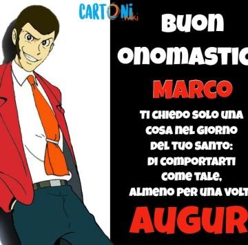 Marco Buon onomastico - Cartoni animati