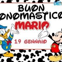 Buon onomastico Mario - Buon onomastico