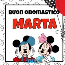 Buon onomastico Marta - Buon onomastico