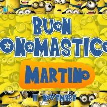 Buon onomastico Martino - Buon onomastico