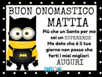 Buon onomastico Mattia - Buon onomastico