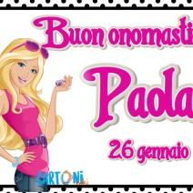 Auguri di Buon onomastico Paola - Buon onomastico