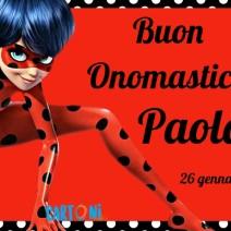 26 gennaio onomastico Paola - Buon onomastico